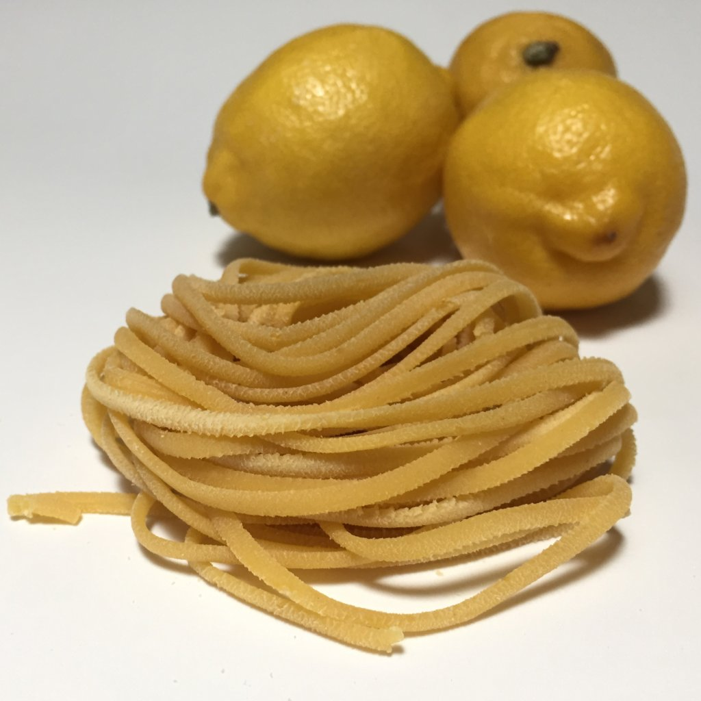 fresh lemon linguine