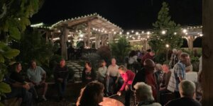 Lights, Wine & Cheese @ Rockledge Gardens